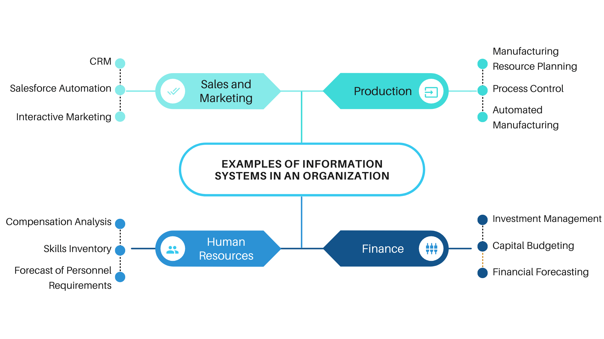 Examples of Information Systems in an Organization