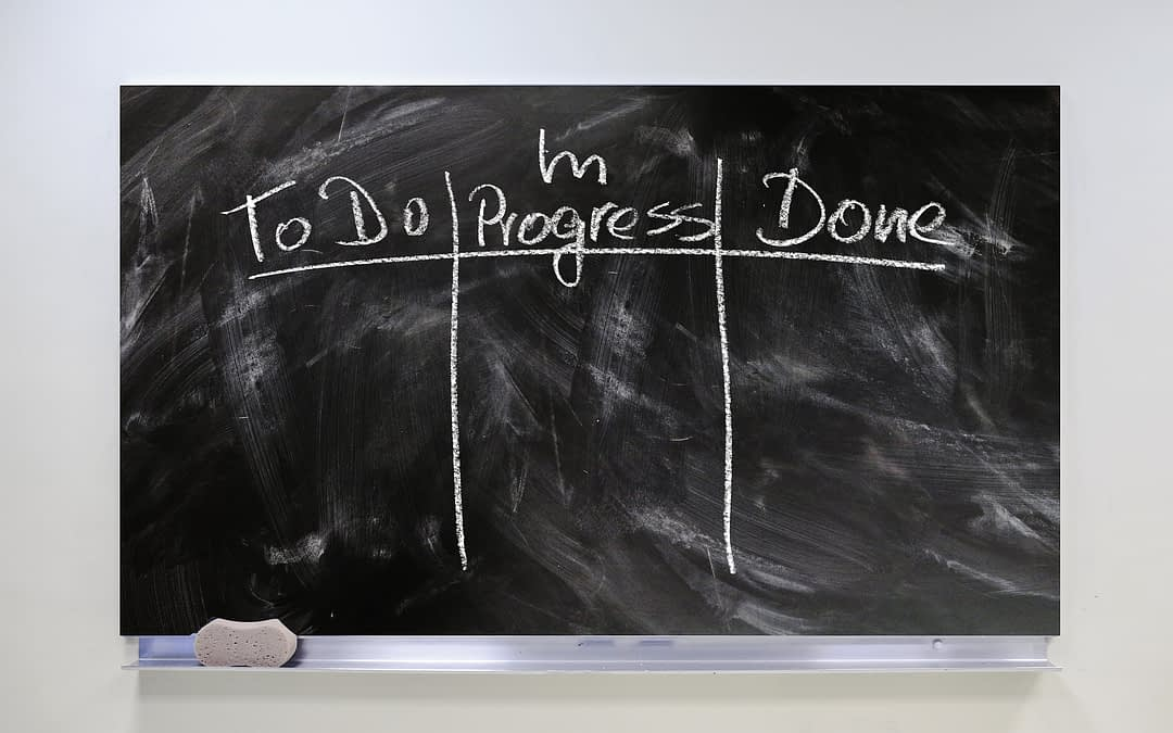 What is a Kanban board and how should I use it?